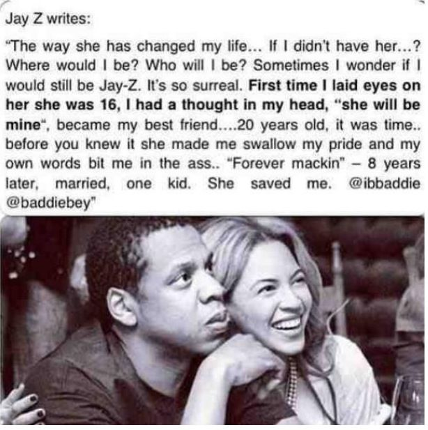 Sweet #jayonce