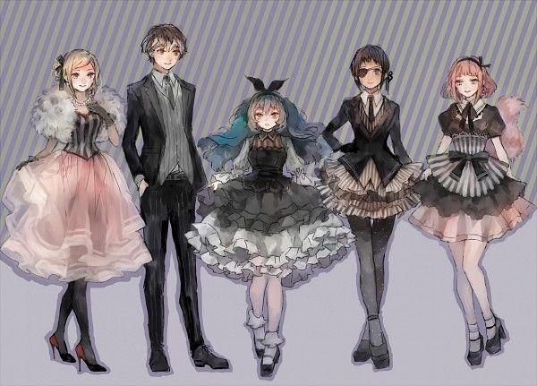 Tokyo Ghoul Re: Sasaki, Akira, Mutsuki, Ihei, and Saiko