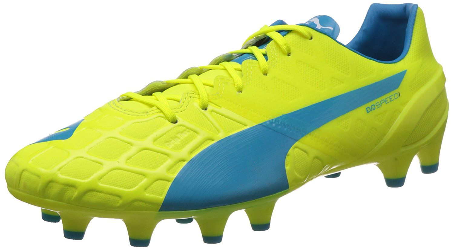 f9fafdf7a727 Puma Men s evoSPEED1.4FG Football Boots  Buy Online at Low Prices in India -