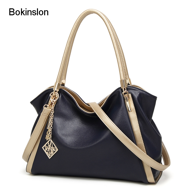 27.71$  Buy here - Bokinslon Woman Brand Handbag PU Leather Popular Crossbody Bag For Ladies Large Capacity Fashion Women Shoulder Bags   #bestbuy