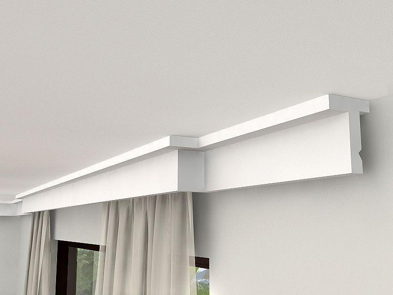 LED Gardinen Verkleidung LKO9 | Gardinenschienen und Vorhänge