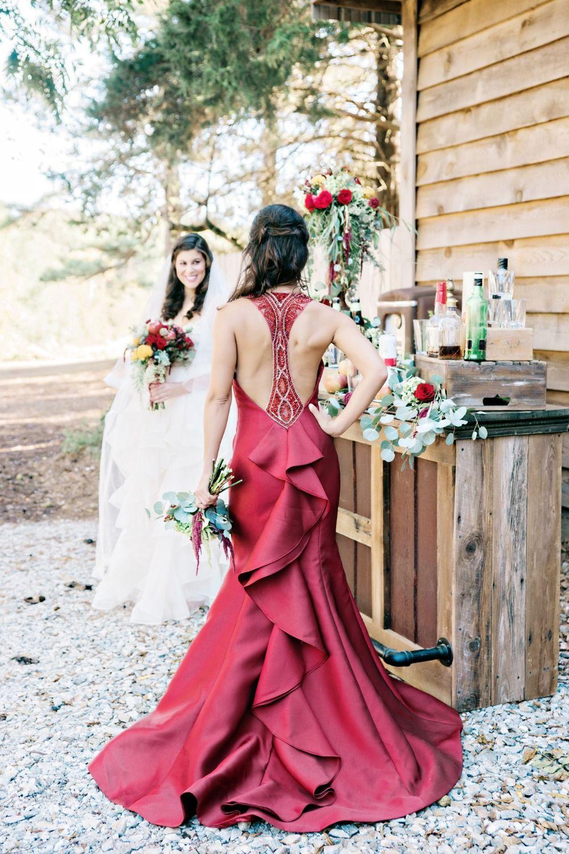 This fall wedding shoot in Georgia is as American as apple pie