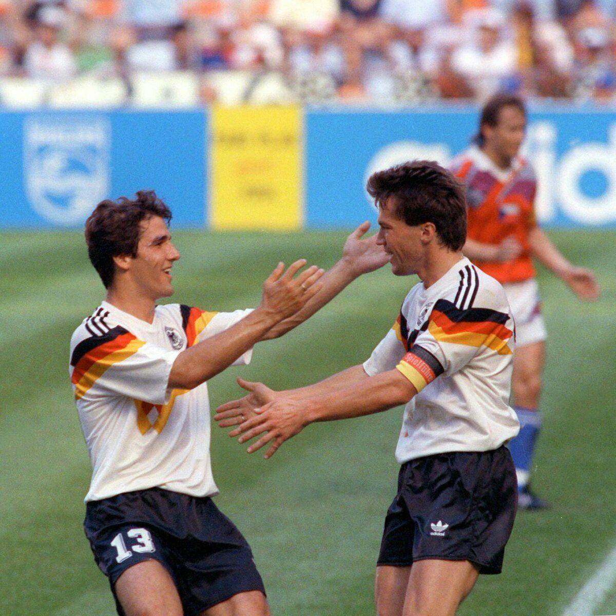 Pin Von Academy Real Football Team Auf Germany Lothar Matthaus Dfb Team Deutsche Fussball Bund