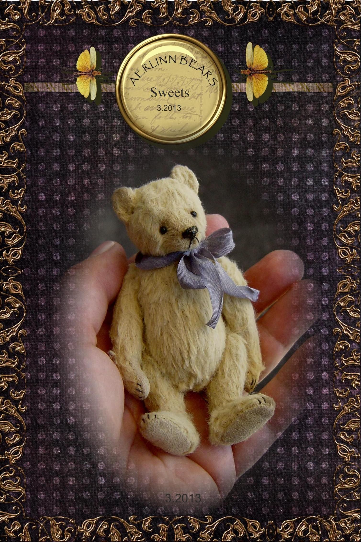 Sweets, miniature Ted made in Viscose