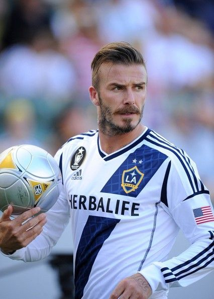 David Beckham Photos Photos La Galaxy Vs Portland Timbers David Beckham David Beckham Hairstyle David Beckham Shorts