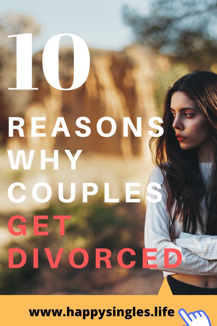 Divorce people top reasons Top 10