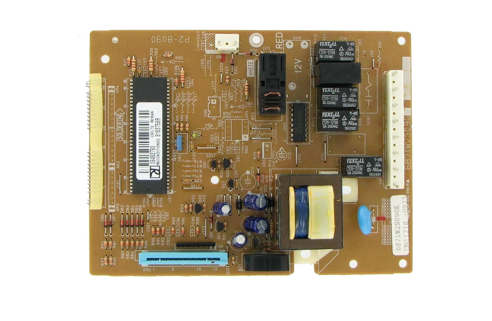 Whirlpool 8172155 Microwave Control Board Repairable
