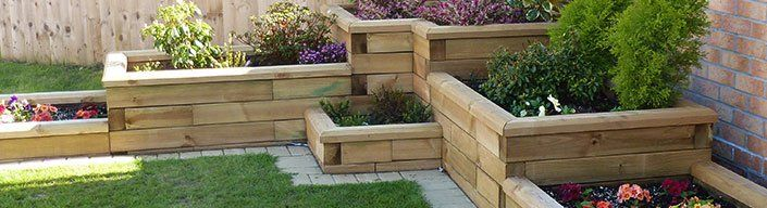 Raised Garden Beds And Wooden Planters   Ayegardening Ltd