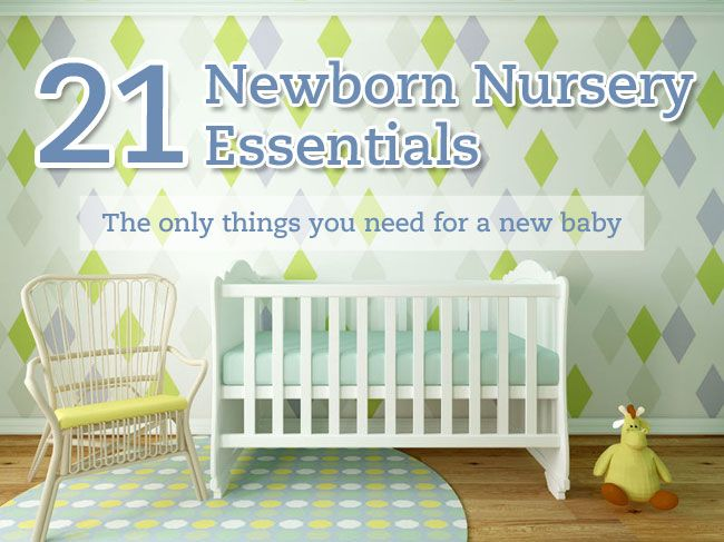 Baby Nursery Checklist - A guide to the essential items you need to buy in preparation for your new baby.