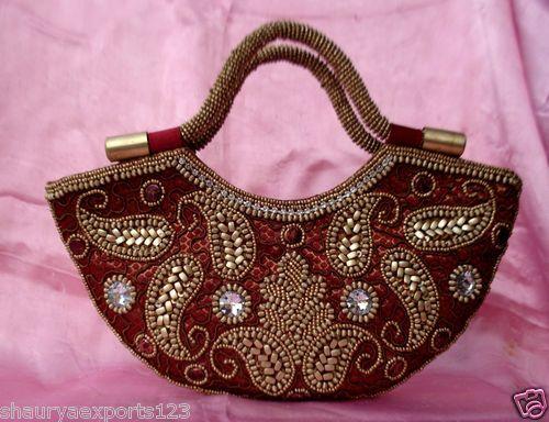 Indian Wedding Gift Bags: Indian Designer Bridal Purse Clutch Bags Handbag Wedding
