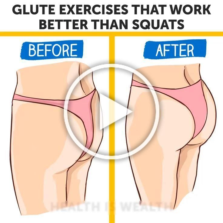 Glute Exercises That Work Better Than Squats -