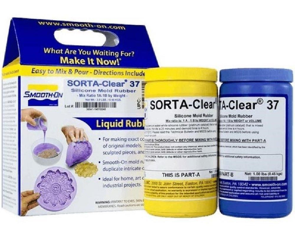 SORTAClear 37 Clear Silicone Rubber Trial Unit Clear