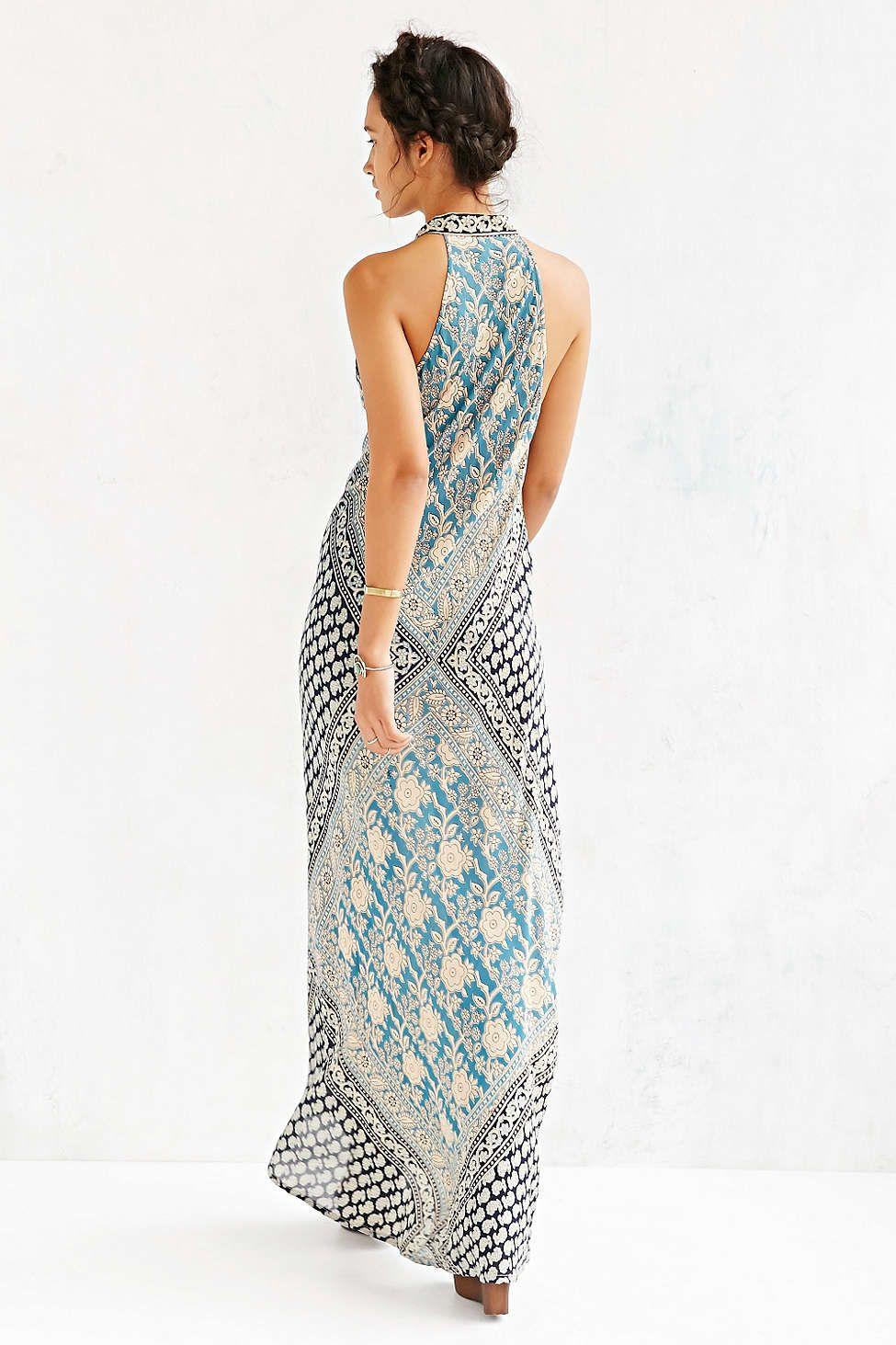 Raga Blue Moon Maxi Dress - Urban Outfitters