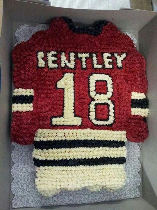 Hockey Jersey Cupcake Cake Hockey Birthday Hockey Cupcakes Hockey Cakes