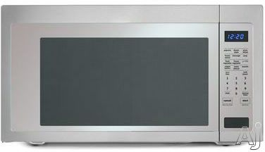 Whirlpool Umc5225ds 2 2 Cu Ft Countertop Microwave Oven With
