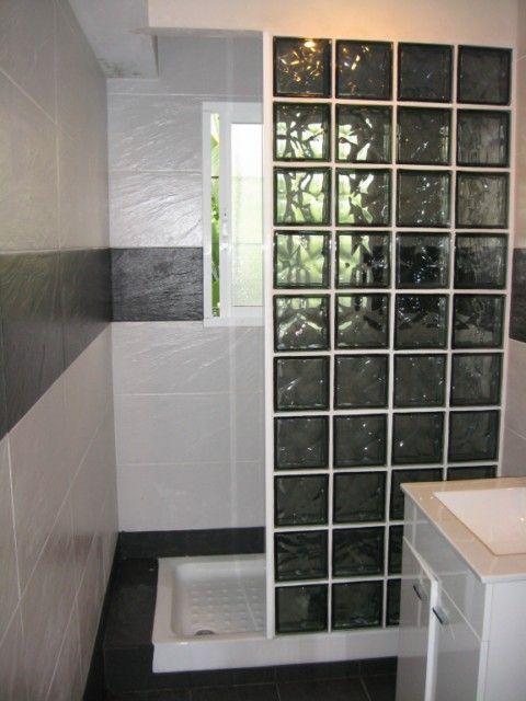 Resultado de imagen para bloques de vidrio yeee - Pared de bloques de vidrio ...