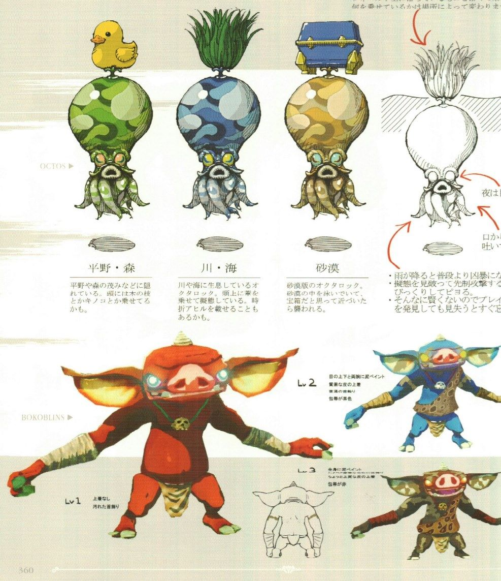 Zelda Character Design Breath Of The Wild : Zelda concepto art monsters and creatures pinterest