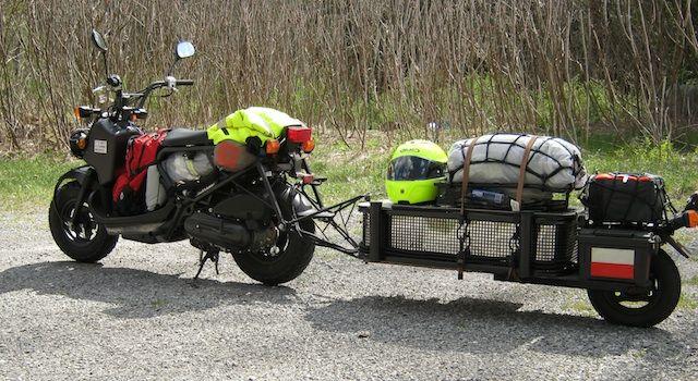 Honda Ruckus cargo trailers! - ADVrider   Random