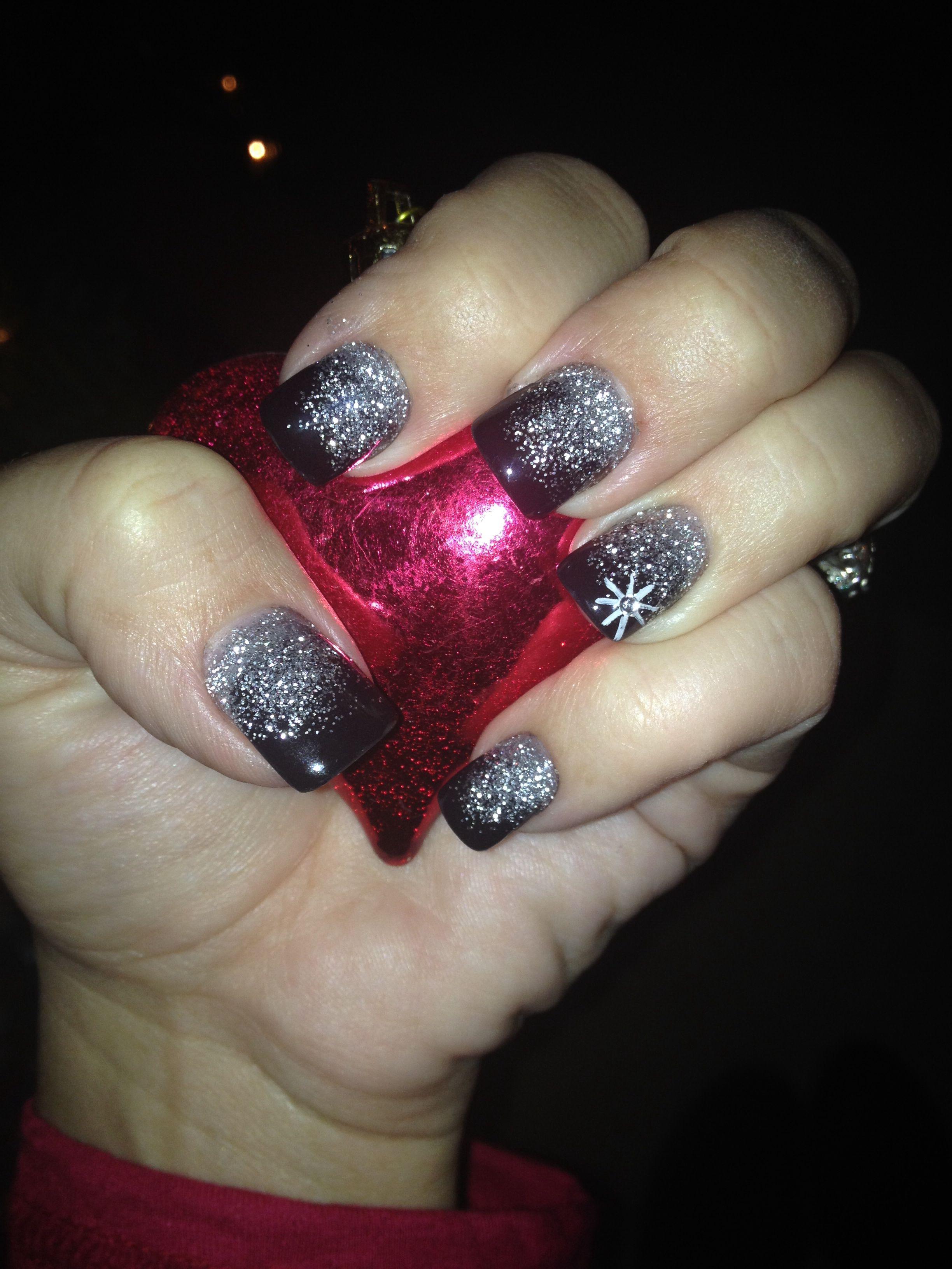 New Years nails. Done by Nail Addiction, Lake Dallas, Tx | Nails ...