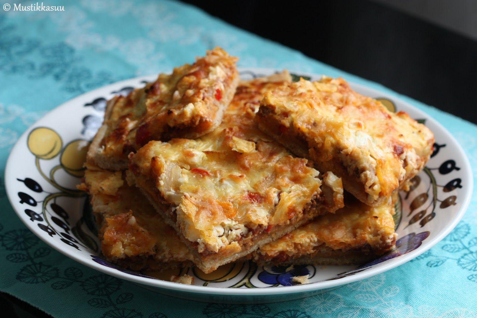Mustikkasuu: Suolaiset leivonnaiset