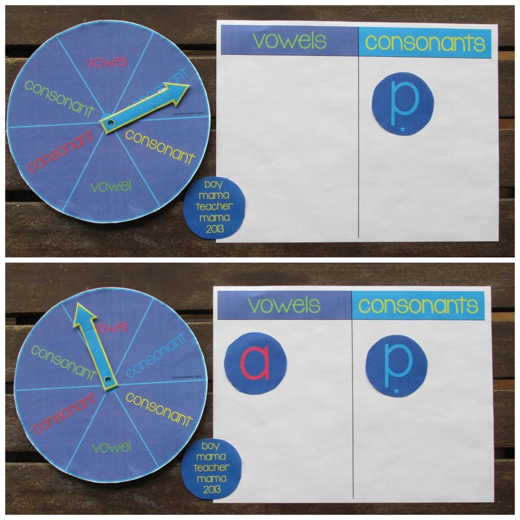 Teacher Mama Vowels And Consonants A Graphing Activity