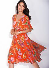 Stylish Dresses for this summer? Get   Print Cap Sleeve Dress for just £55 via http://bit.ly/In7Xo7
