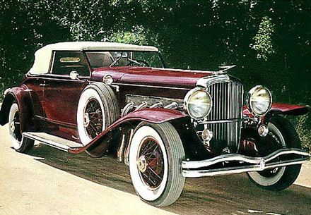 1934 Duesenberg Model J - (Duesenberg Automobile & Motors Company, Inc. Auburn, Indiana,1913-1937)