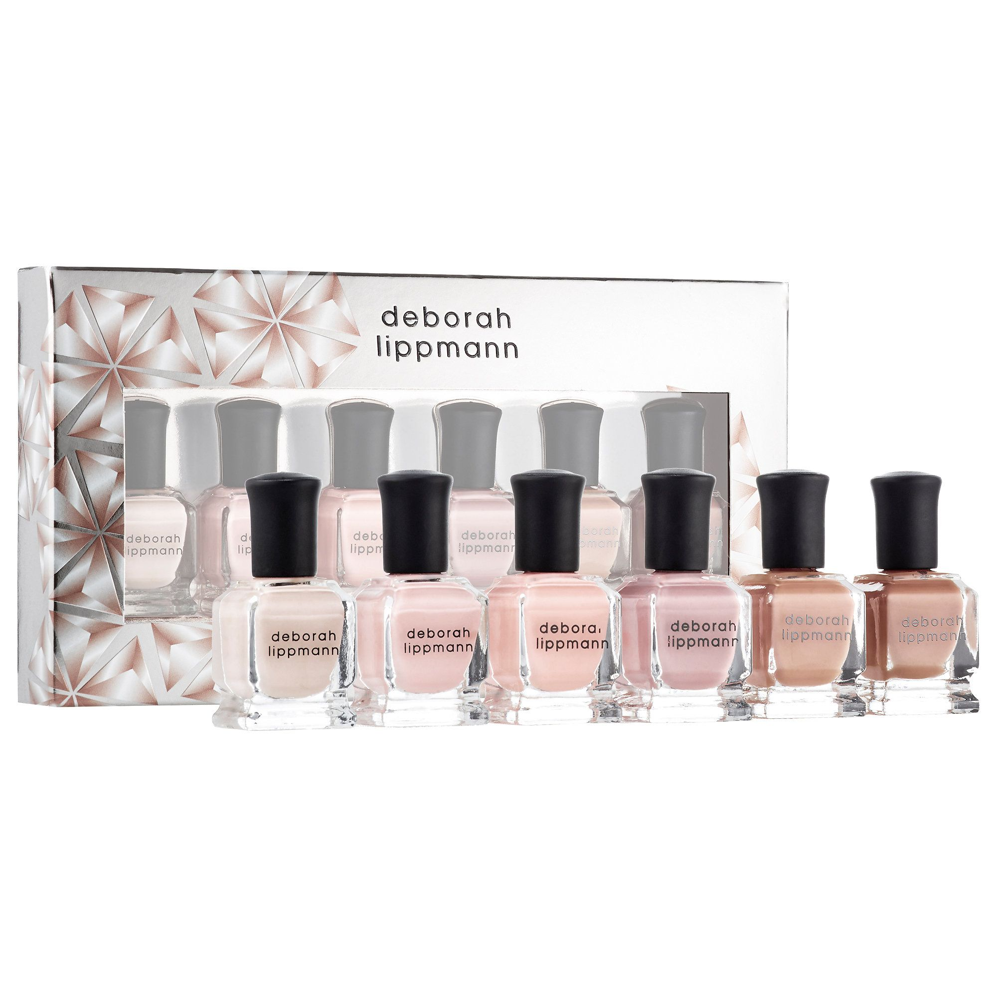 $34 What it is: A six-piece, full-coverage nude nail polish set ...