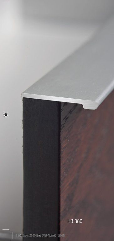 Halliday Baillie Hb380 Continuous Drawer Pull Extruded Aluminum