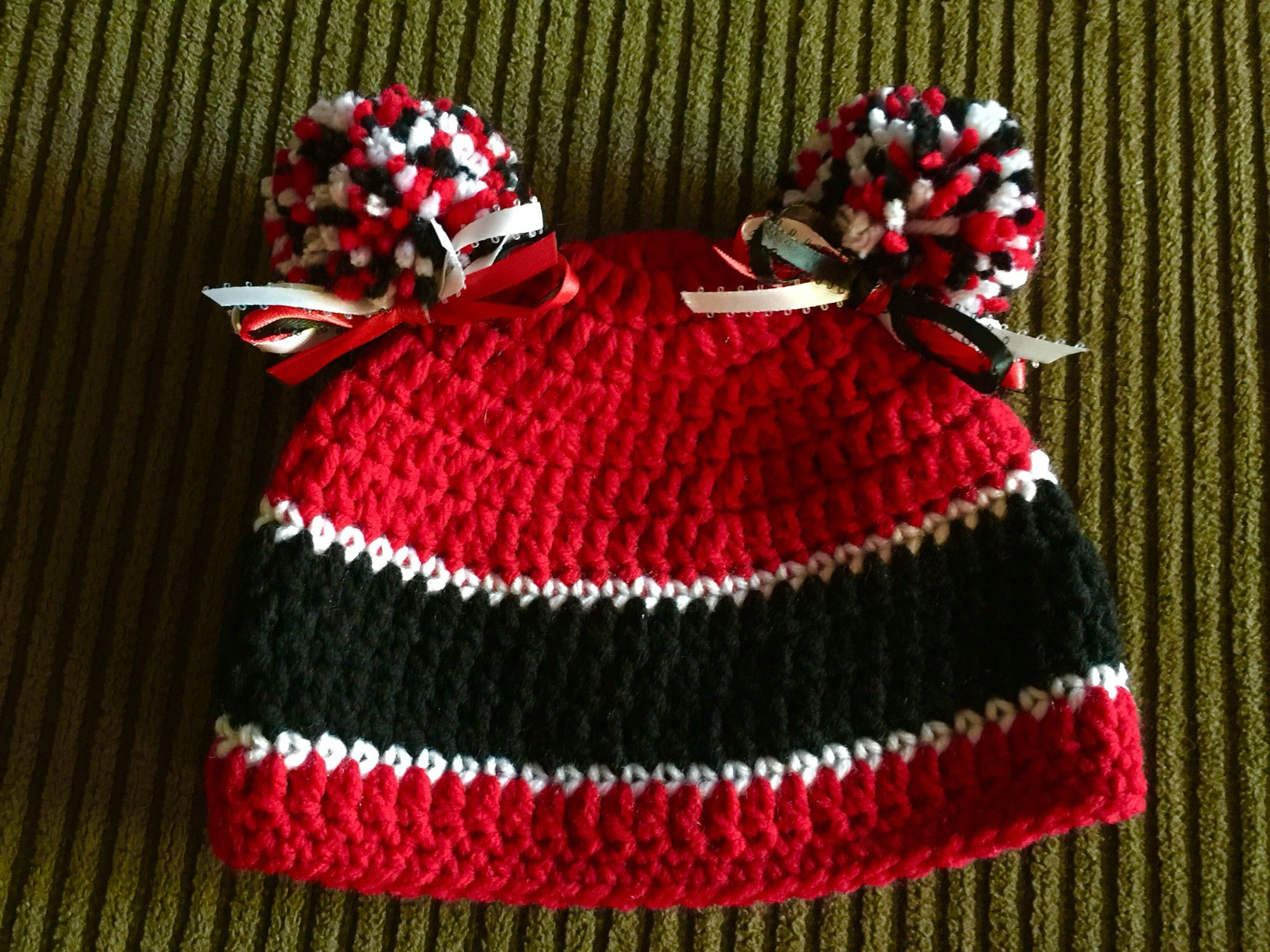 Bulldog babygirl hat i just got done with images