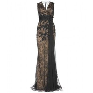 Zuhair Murad Floor Length Lace Gown