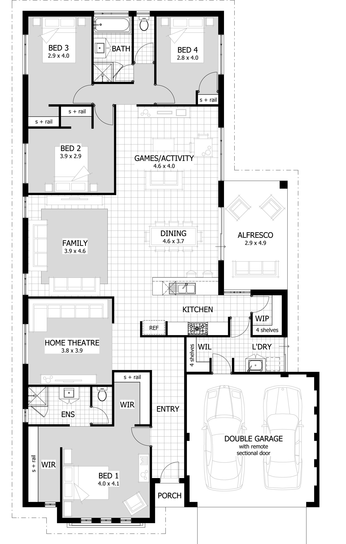 Clarion floor plan architecture pinterest house architecture