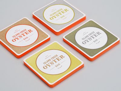 island creek oyster bar branding by Jennifer Lucey-Brzoza