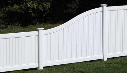 New Lexington S Curve Transition Panel Bufftech Fence