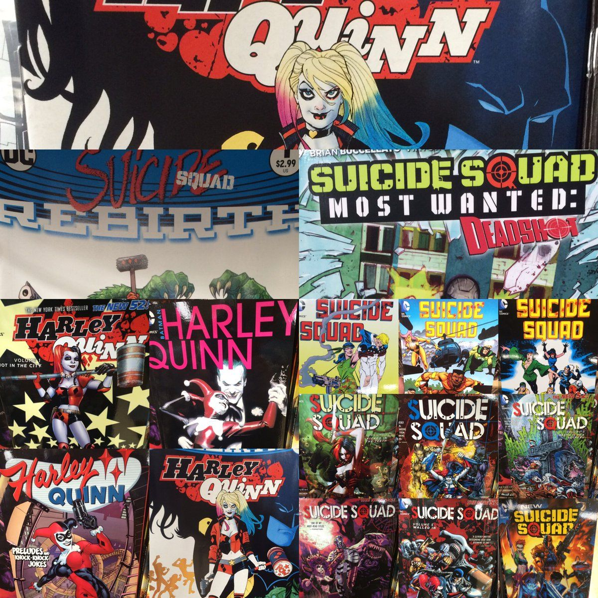 Going to see #SuicideSquad? Be sure to pick up the source material! In-Store or online: http://ow.ly/jEGg302XJVb