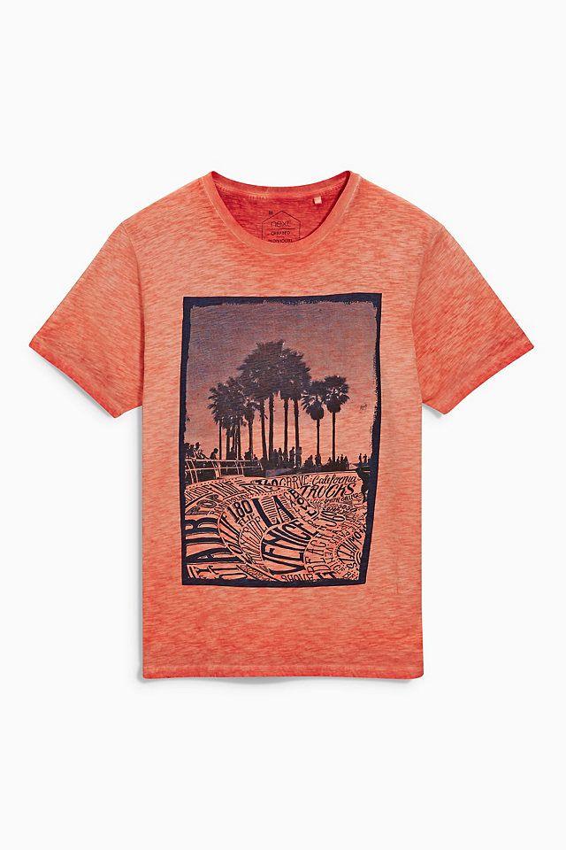Next T-Shirt mit Skatepark-Motiv