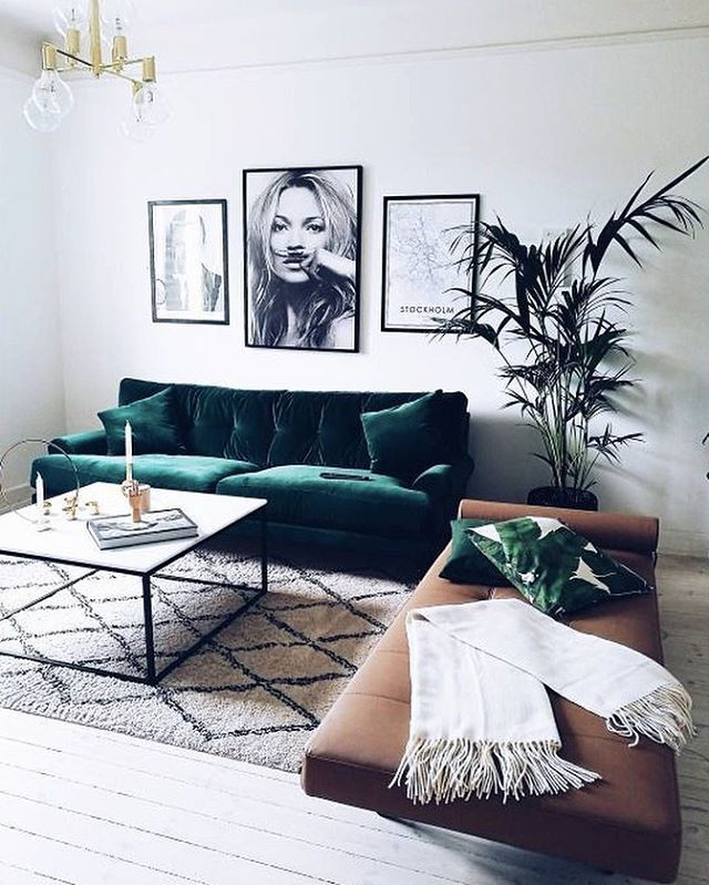 Pretty much into #velvet at the moment 🌱#interior #inspiration #pinterest