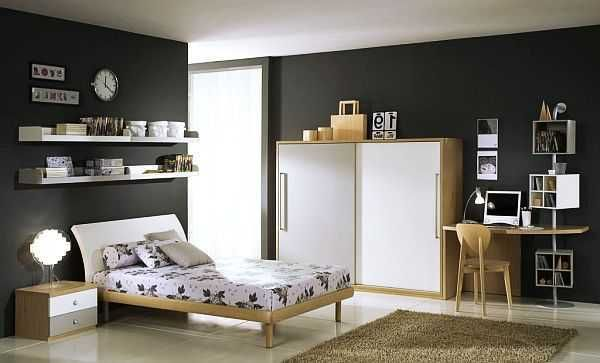 Room Colors For Guys black-boys-room-colors (600×363) cool desk storage | kid rooms