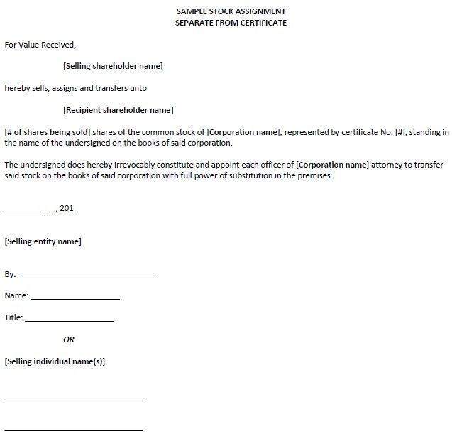 Assignment Of Membership Interest Agreement Assignment