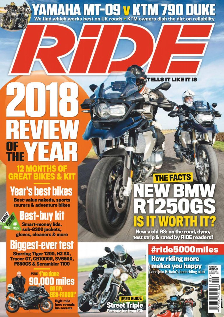 Ride February 2019