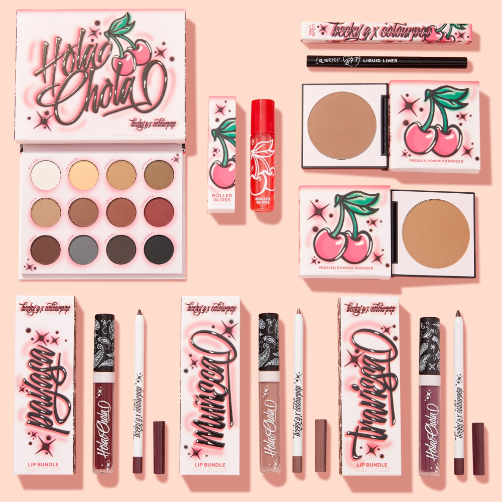 ColourPop's Next Becky G Collab Is a Total Throwback to