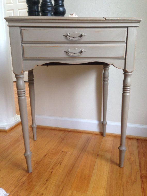 painting sewing machine cabinet