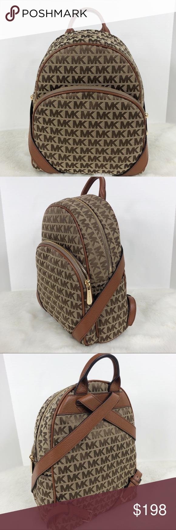 70817bbaa43c Michael Kors Abbey Medium Backpack brown Brand new Michael Kors Abbey  Backpack in brown. Size