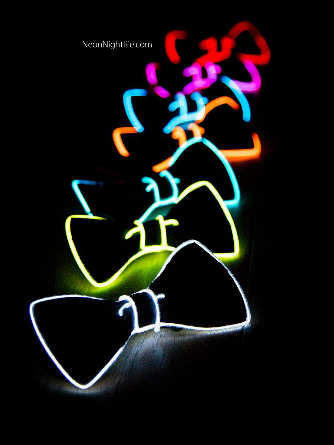 Pin En Glow Stick Costumes Ideas