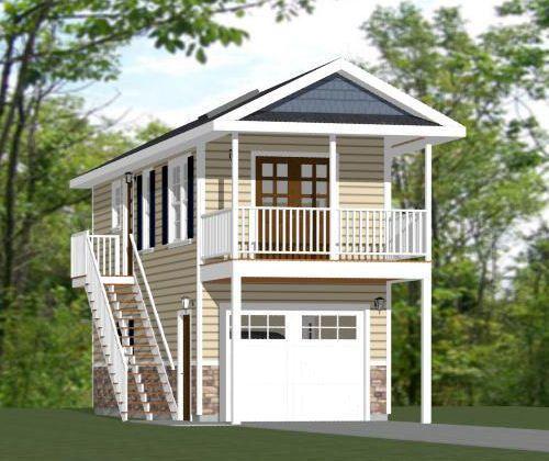12x32 Tiny House 461 Sq Ft Pdf Floor Plan Model 9c