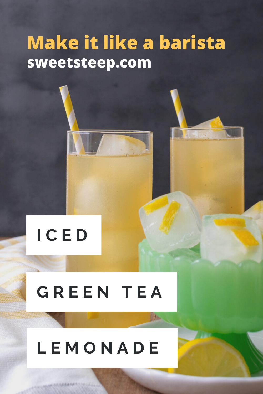 Photo of Iced Green Tea Lemonade Like Starbucks