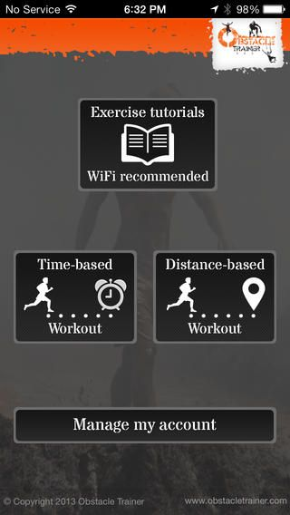 Obstacle Trainer is the premier smartphone app for