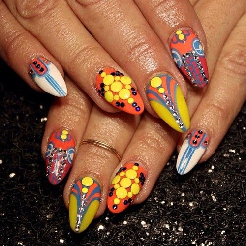 Nail Art | Tumblr | Art deco nails, Fancy nails, Tumblr ...
