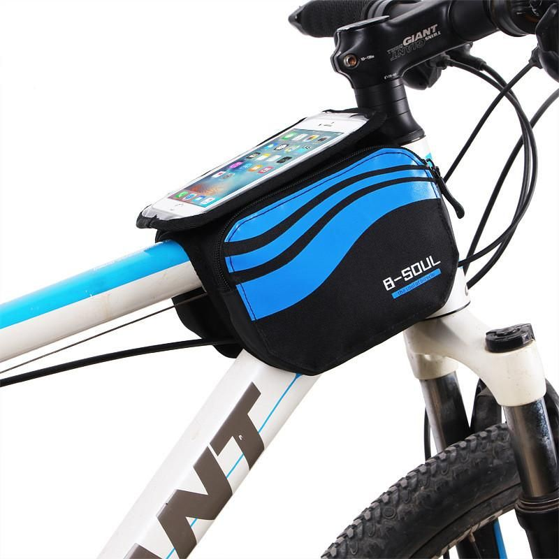 Bicycle Front Touch Screen Phone Bag Bicycle Accessories Bike