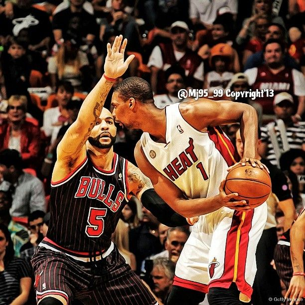 Photo by mj95_99...Chris Bosh & Carlos Boozer